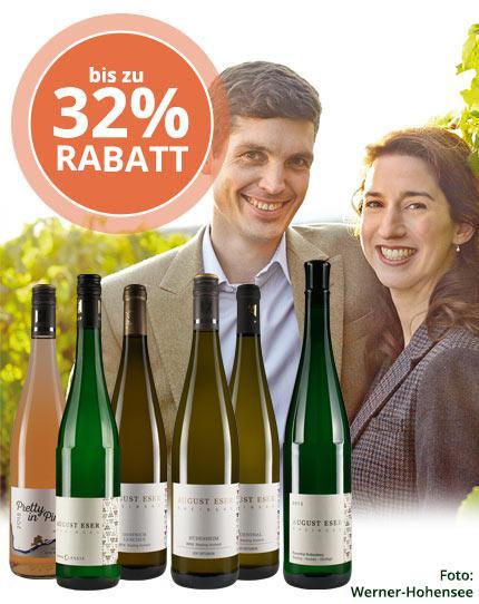 Top-Rieslinge & sommerlicher Rosé aus dem Rheingau
