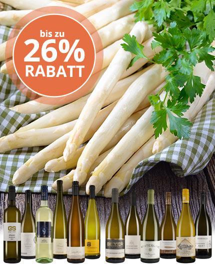 Die besten Weißweine zur Spargel-Zeit!