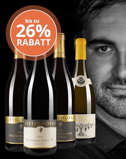 Der Meister der extrakreichen Weine - Bietighöfer