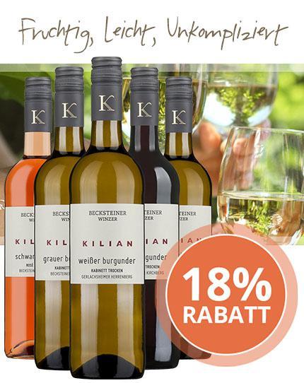 Leicht zugängliche & im Alkohol moderate Weine von den Becksteiner Winzern
