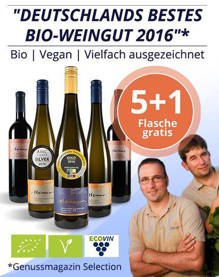 Deutschlands bestes Bio-Weingut 2016