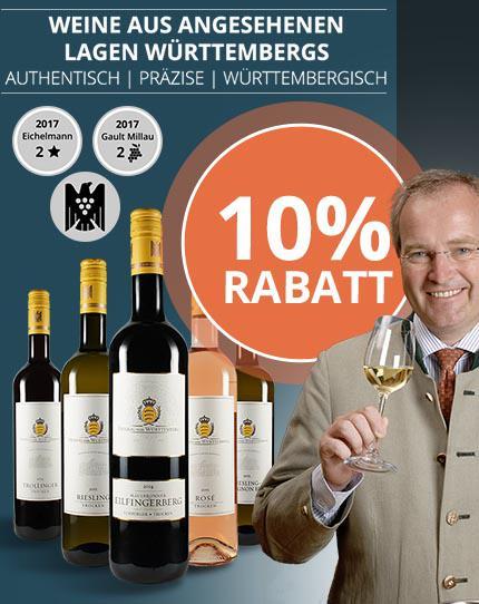 Weine aus den angesehensten Lagen Württembergs
