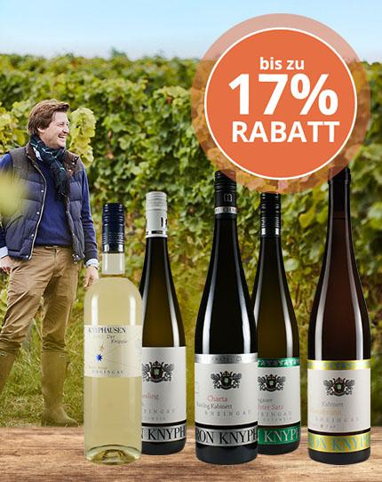 Kraftvolle Rheingau-Raritäten mit Würze, Frische & Präzision