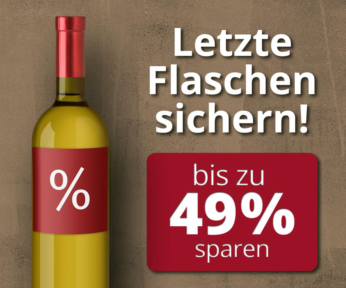 Letzte Flaschen sichern !