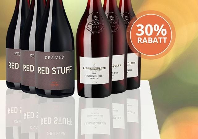 Kräftiges Rotwein-Paket