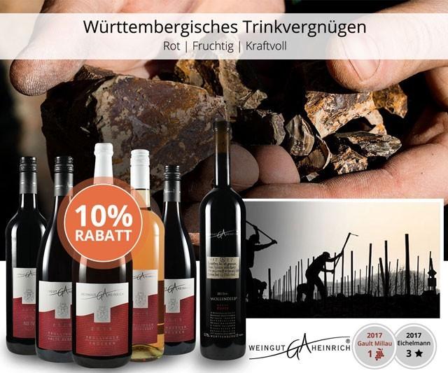 Württembergisches Trinkvergnügen vom Liter bis zur Spitzencuvée