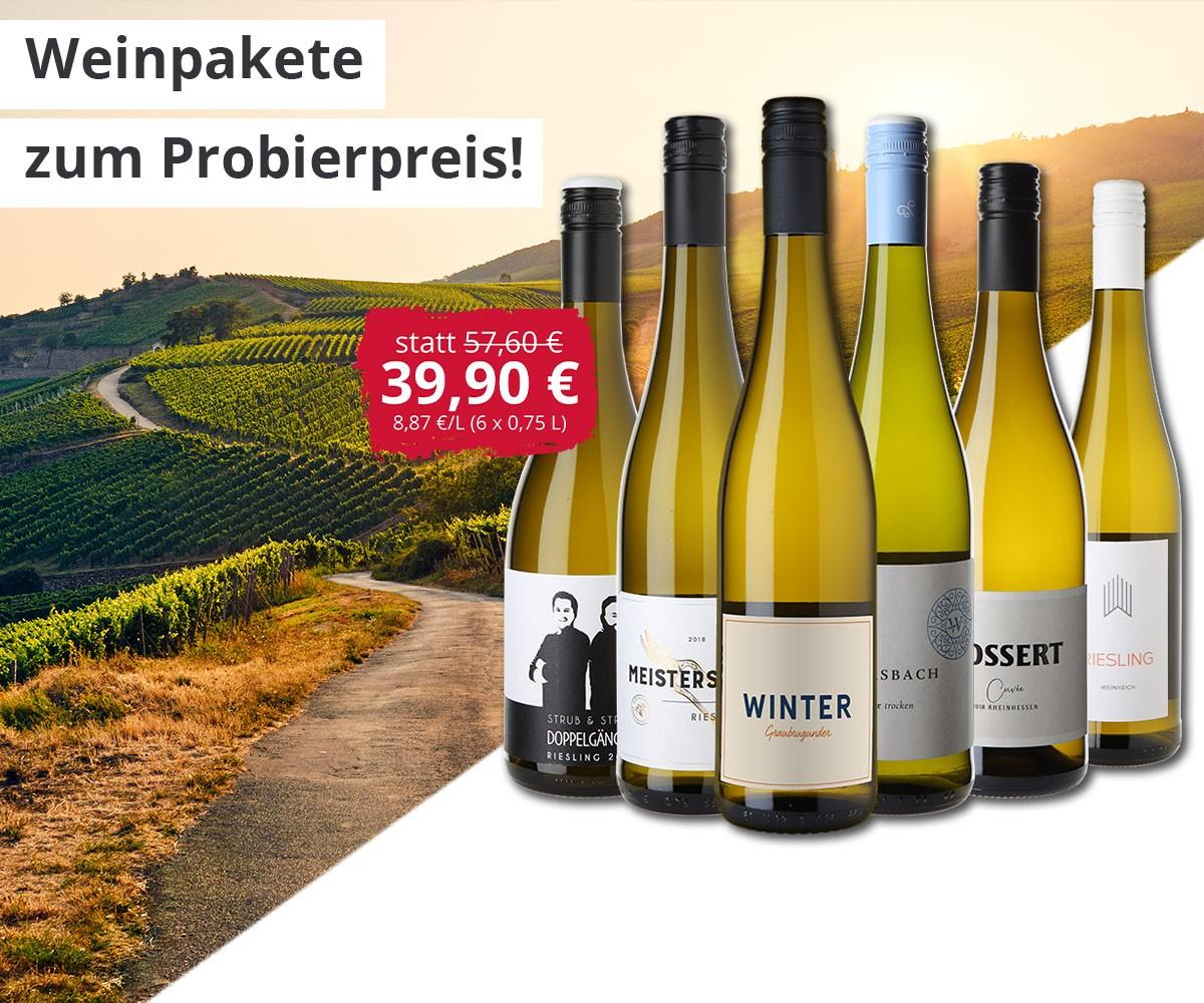Weinpakete für Sommerliche Temperaturen