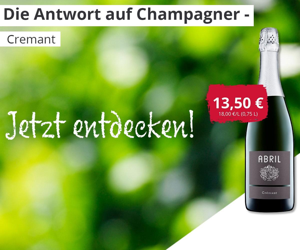 04.08.2020 Cremant - Die Antwort auf Champagner