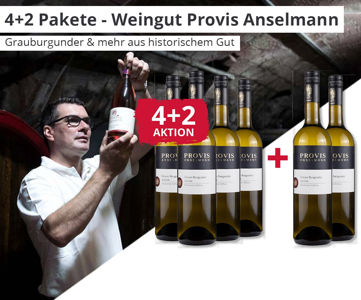 Weingut Anselmann - 4+2 Aktion