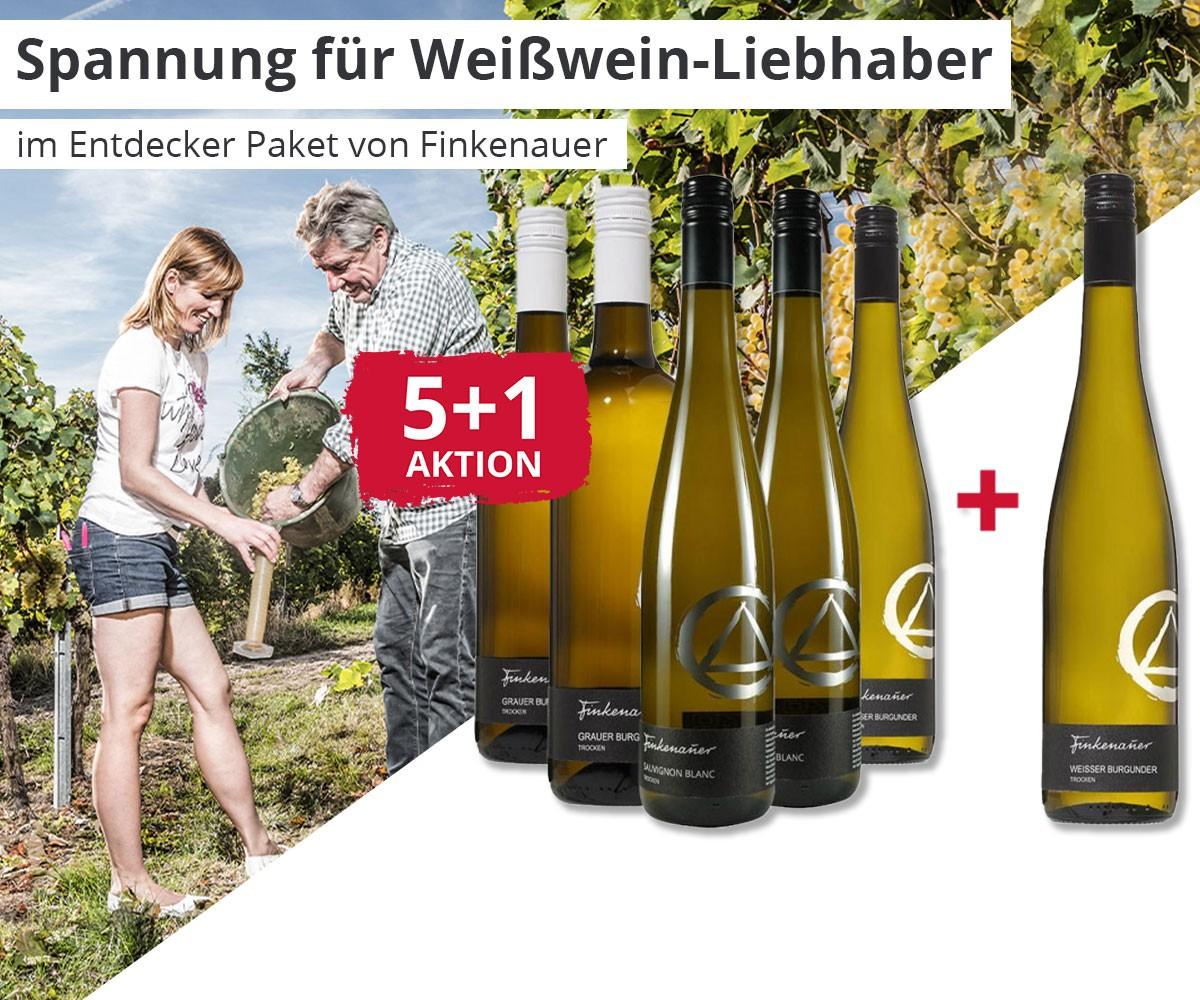 Weingut Finkenauer - Spannung für Weißwein-Liebhaber