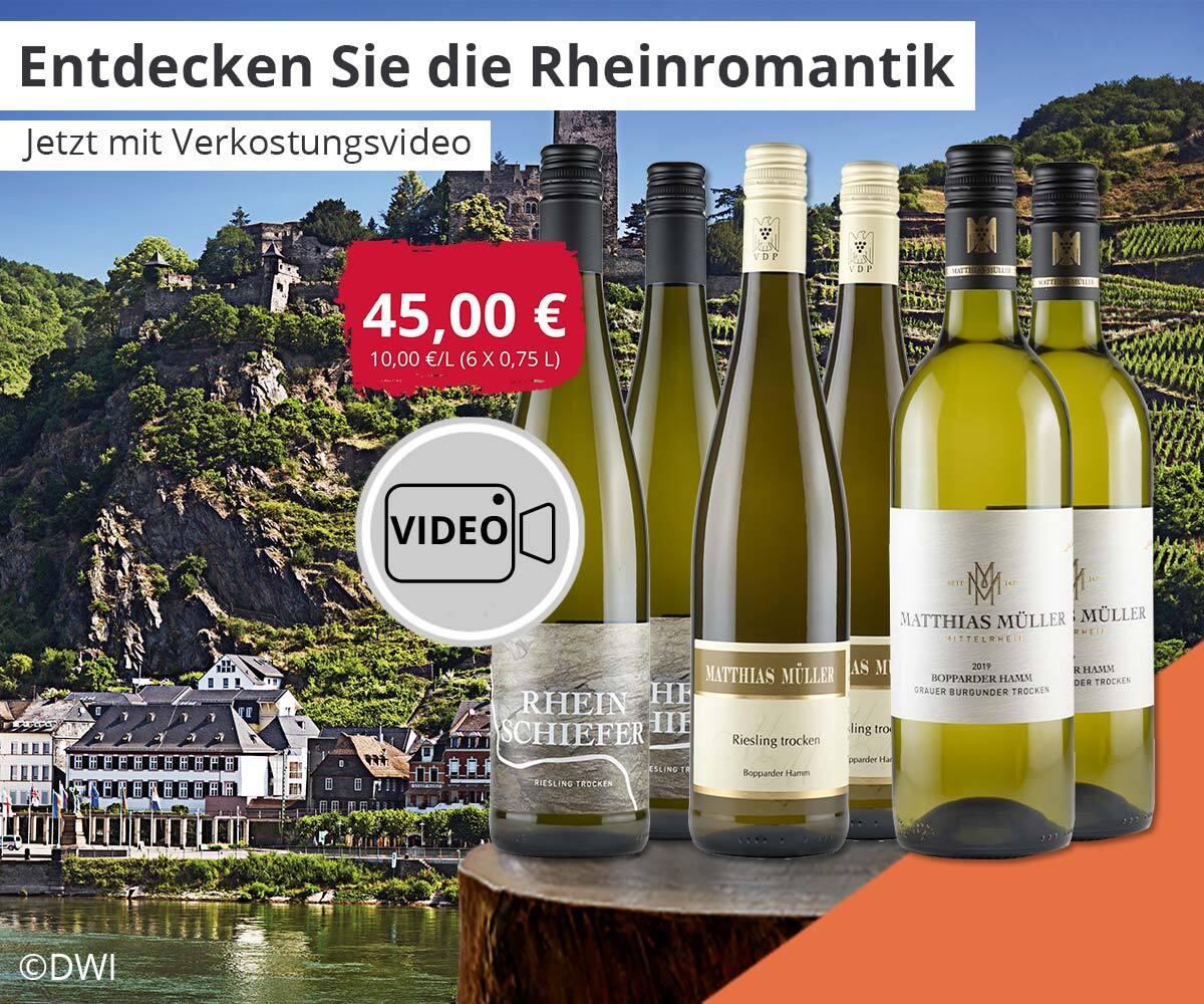 Rhein-Romantik im Paket entdecken!