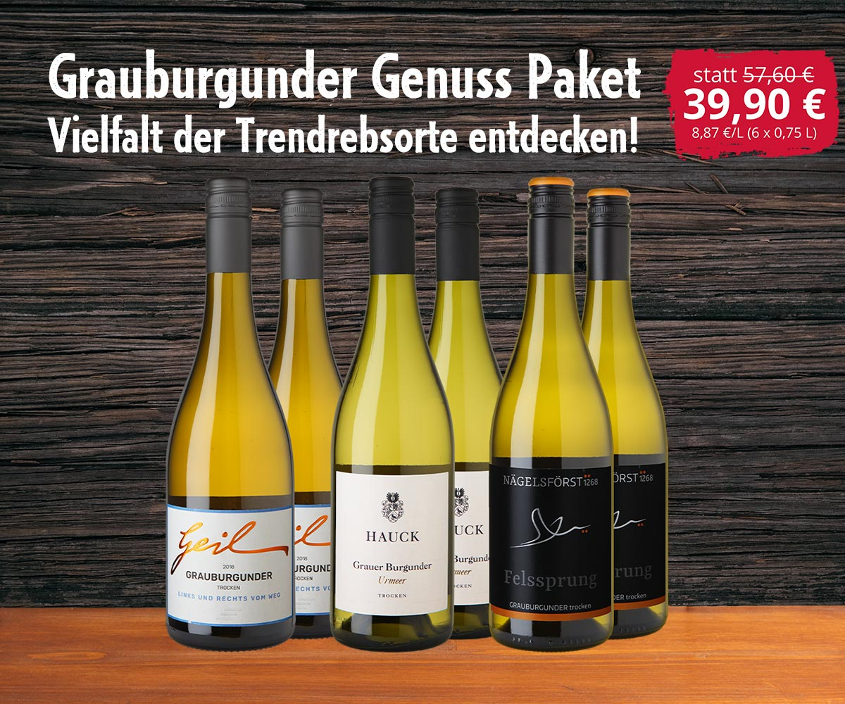 Grauburgunder Paket