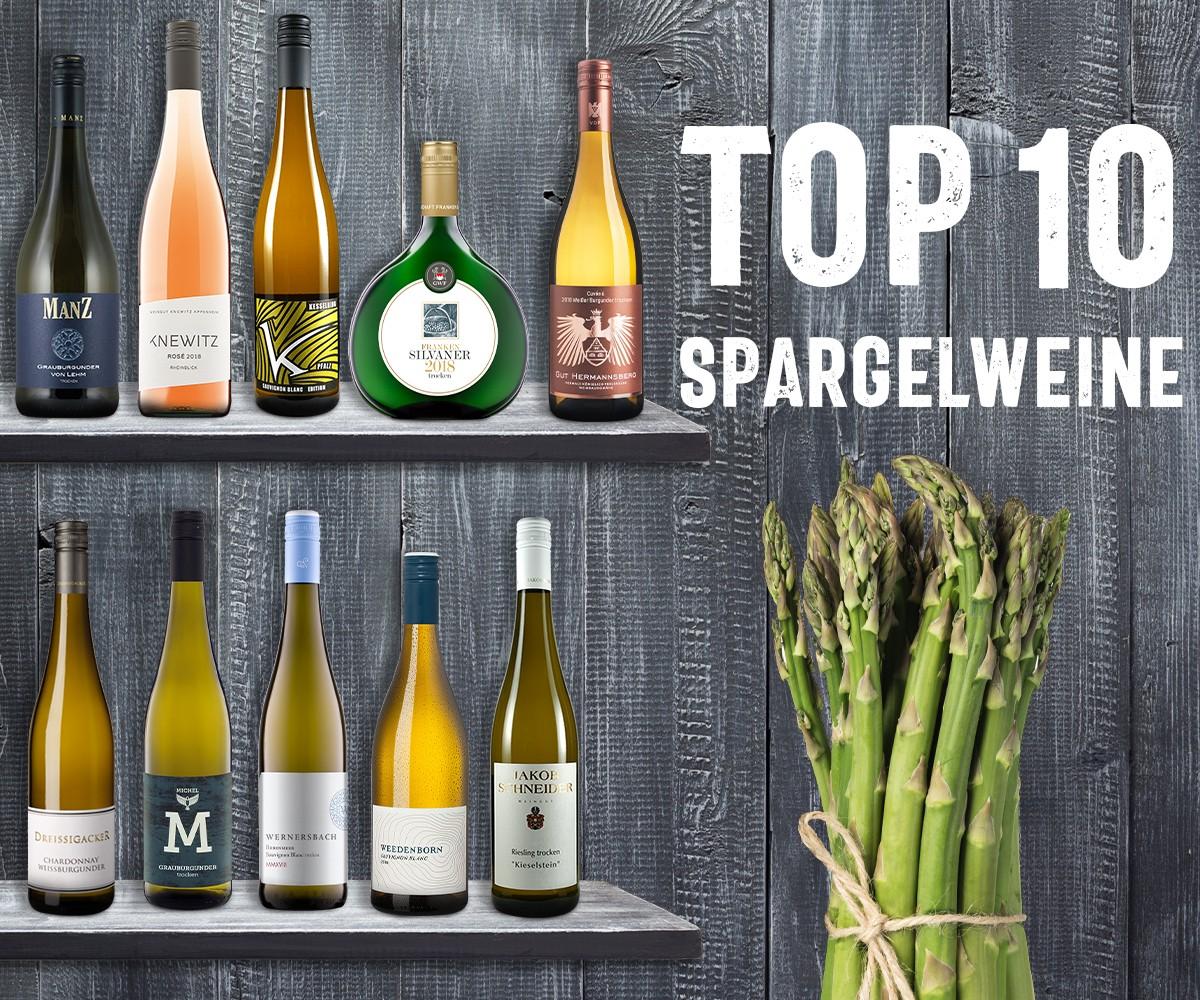 Top 10 Spargelweine