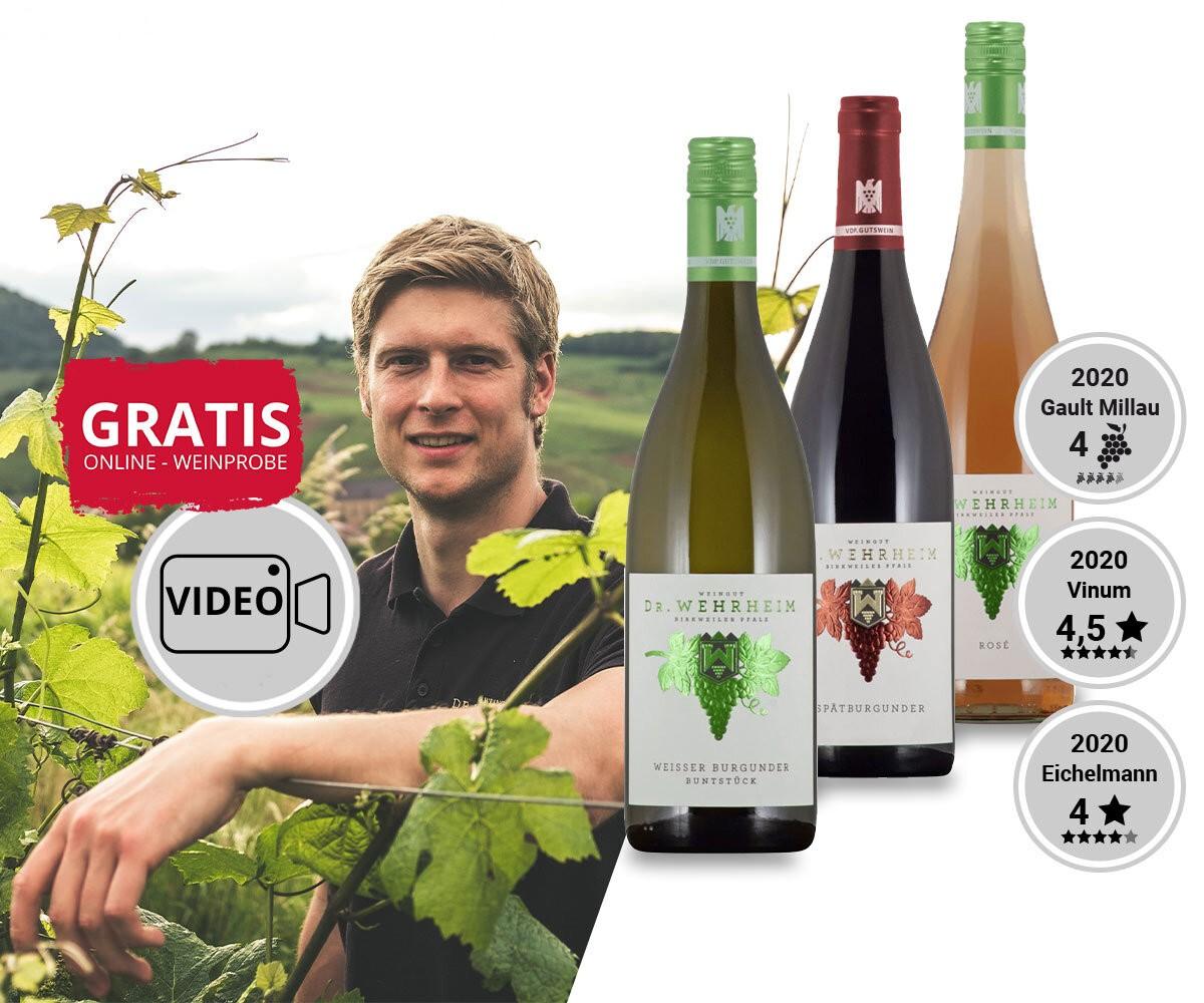 WEIN-HIGHLIGHT NR. 2 Online-Weinprobe zum Adventspaket