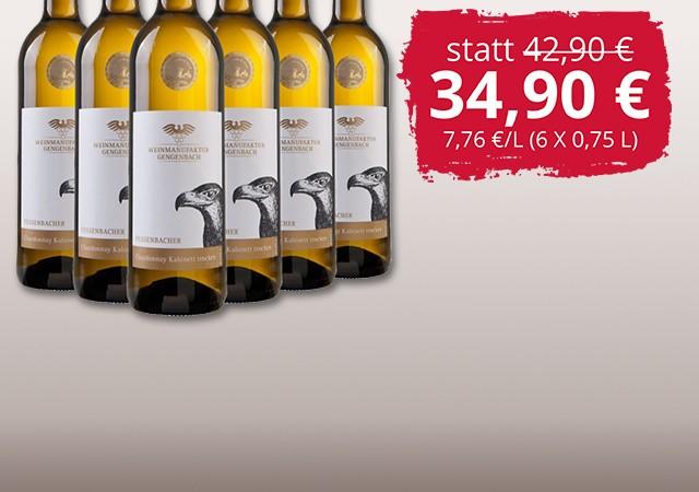 Chardonnay Kabinett trocken-Paket