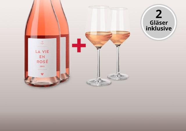 La Vie En Rosé-Paket