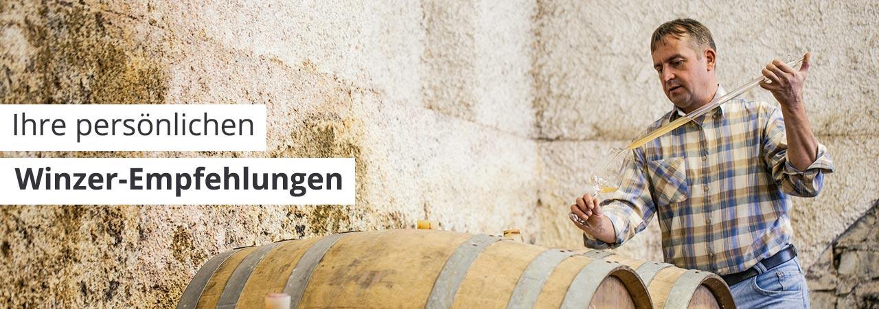 Persönliche Weinempfehlungen