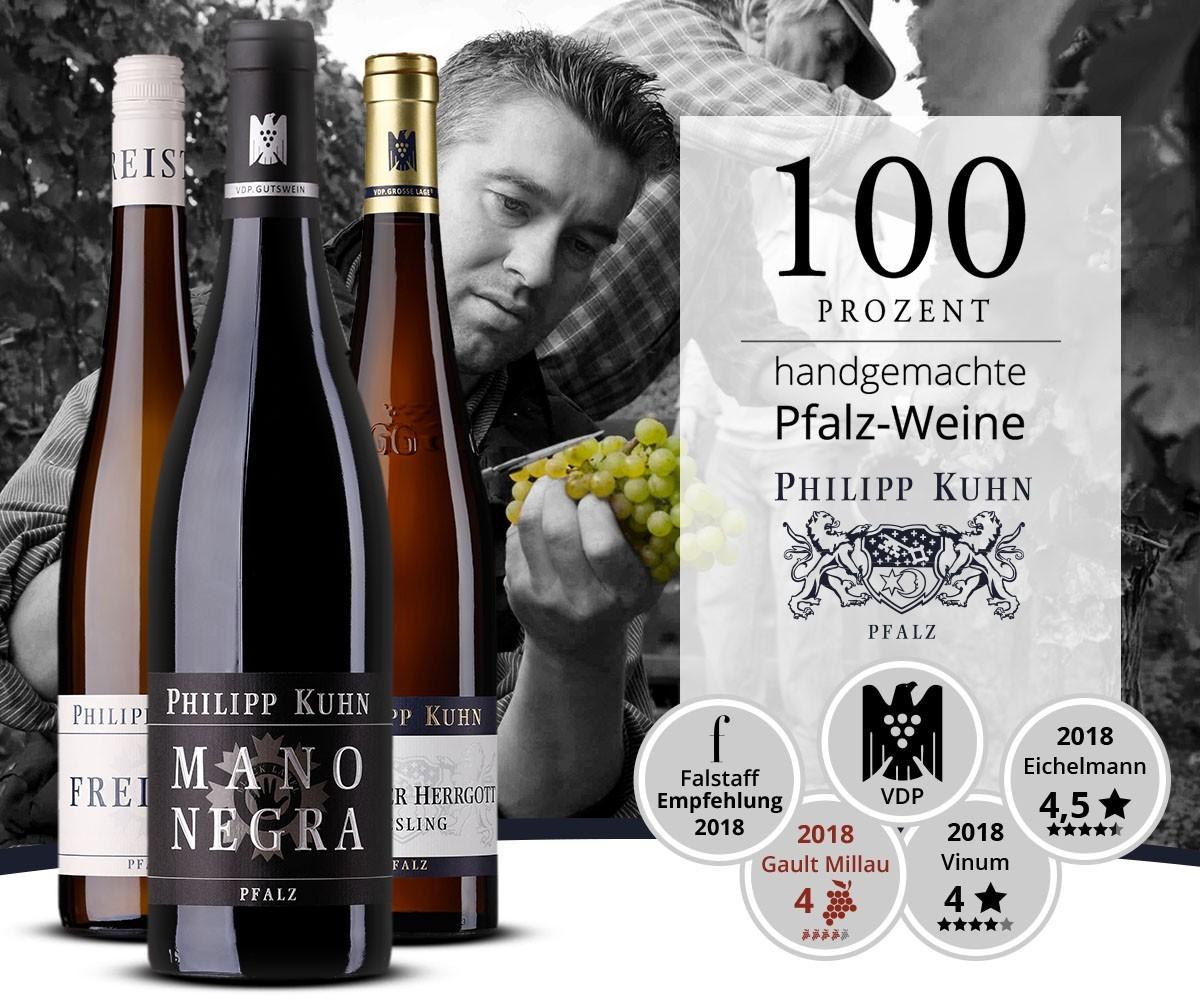100% handgemachte Pfalz-Weine!