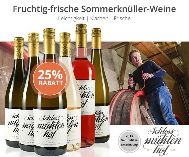 Fruchtig-frische Sommerknüller-Weine aus Rheinhessen