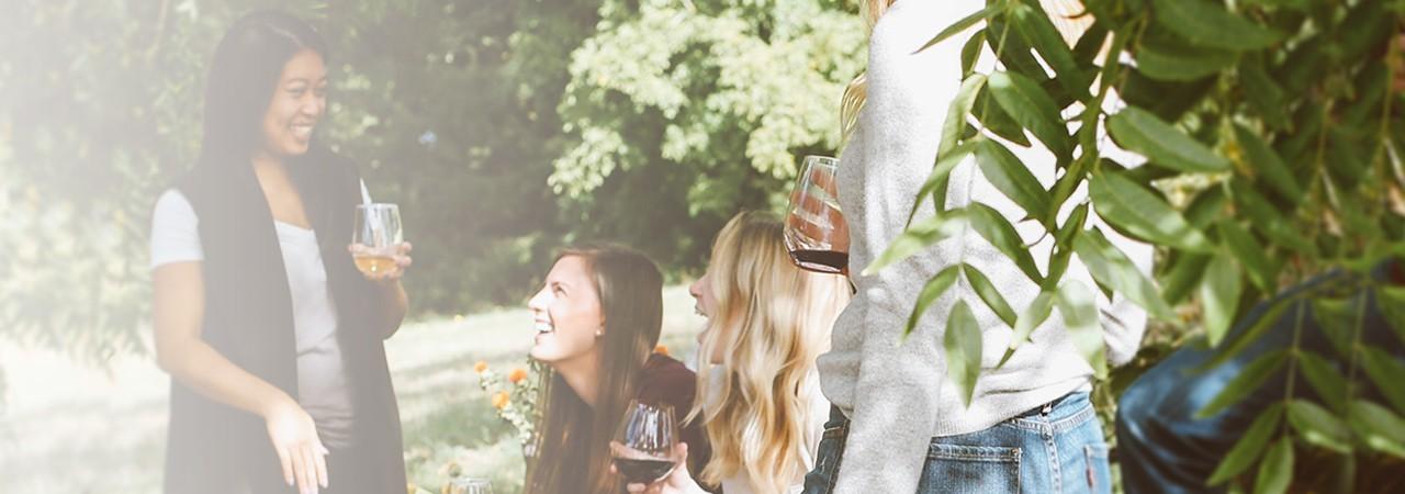 Frische Sommerweine