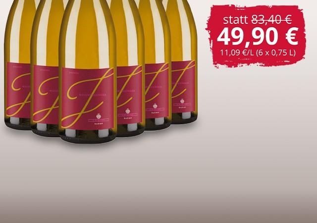 6 Flaschen Junior Weißburgunder