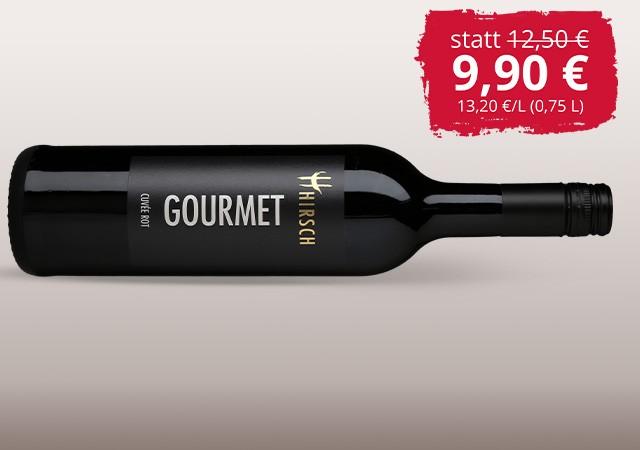 2016 Gourmet Cuvée rot trocken