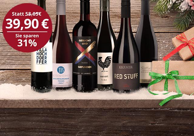 Rotwein Favoriten fürs Fest