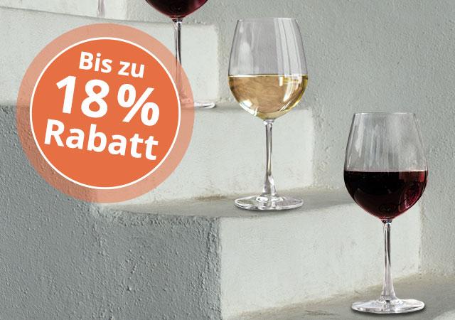 Wein Rabattstaffel