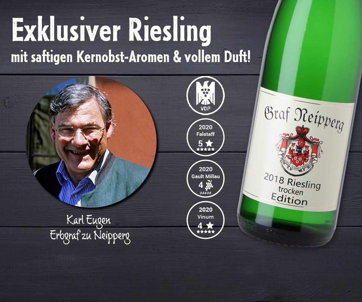 Riesling Edition trocken Weingut Graf Neipperg