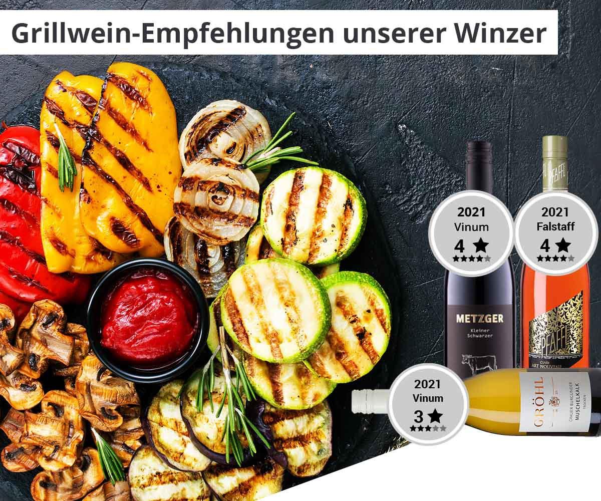 Grillweinempfehlungen Unserer Winzer