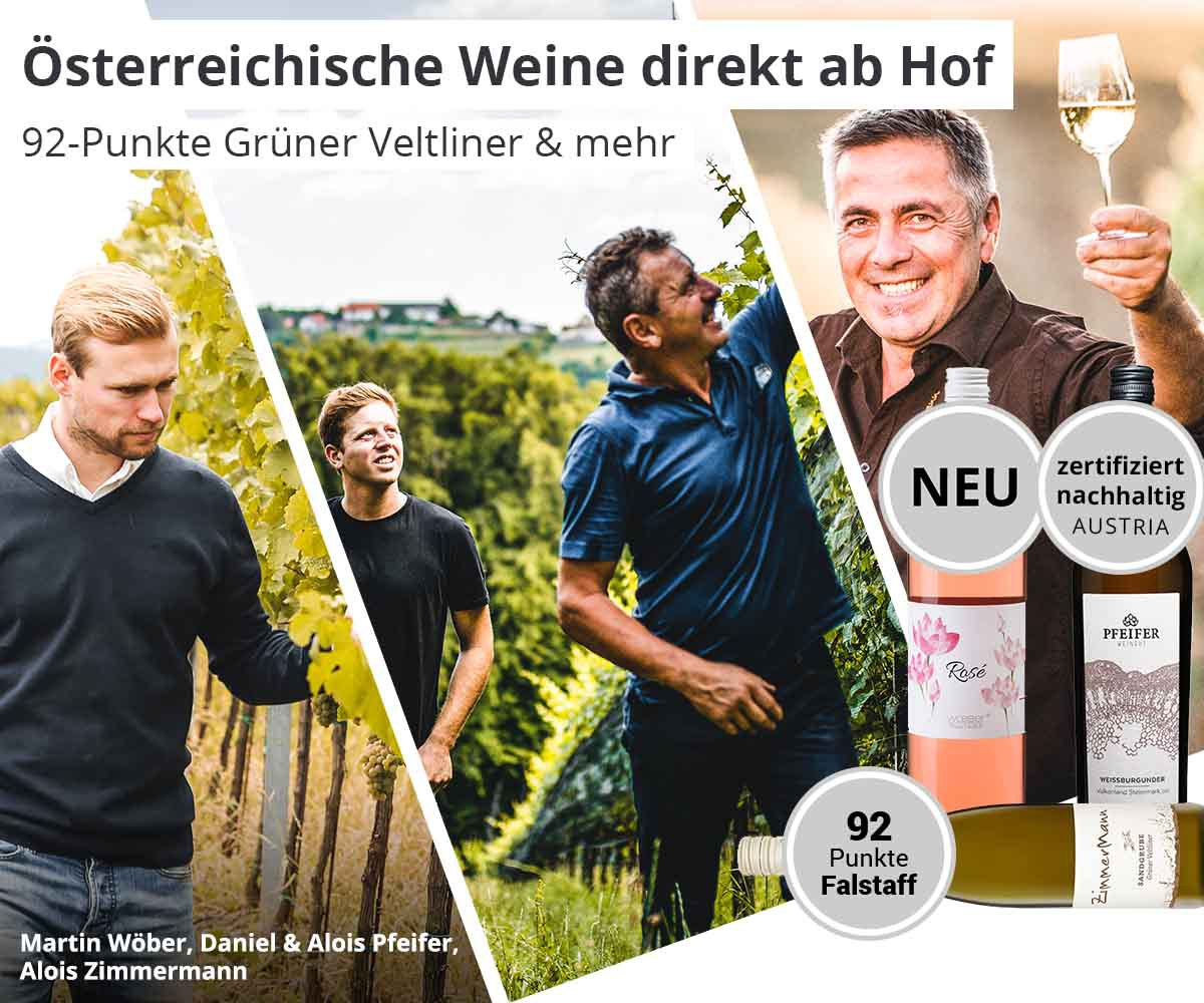Österreichs Weinwelt entdecken
