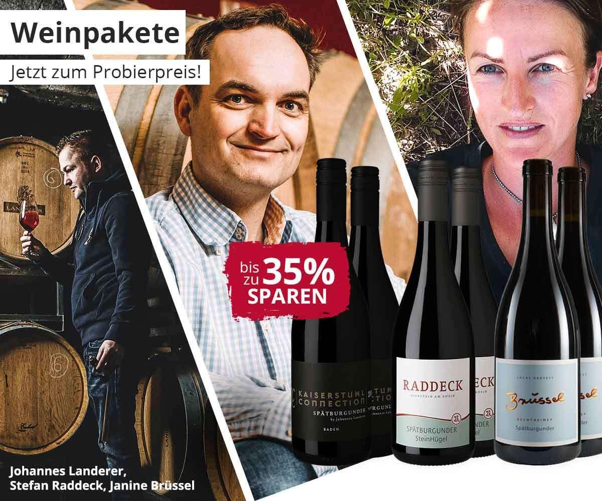 Weinpakete zum Probierpreis entdecken!