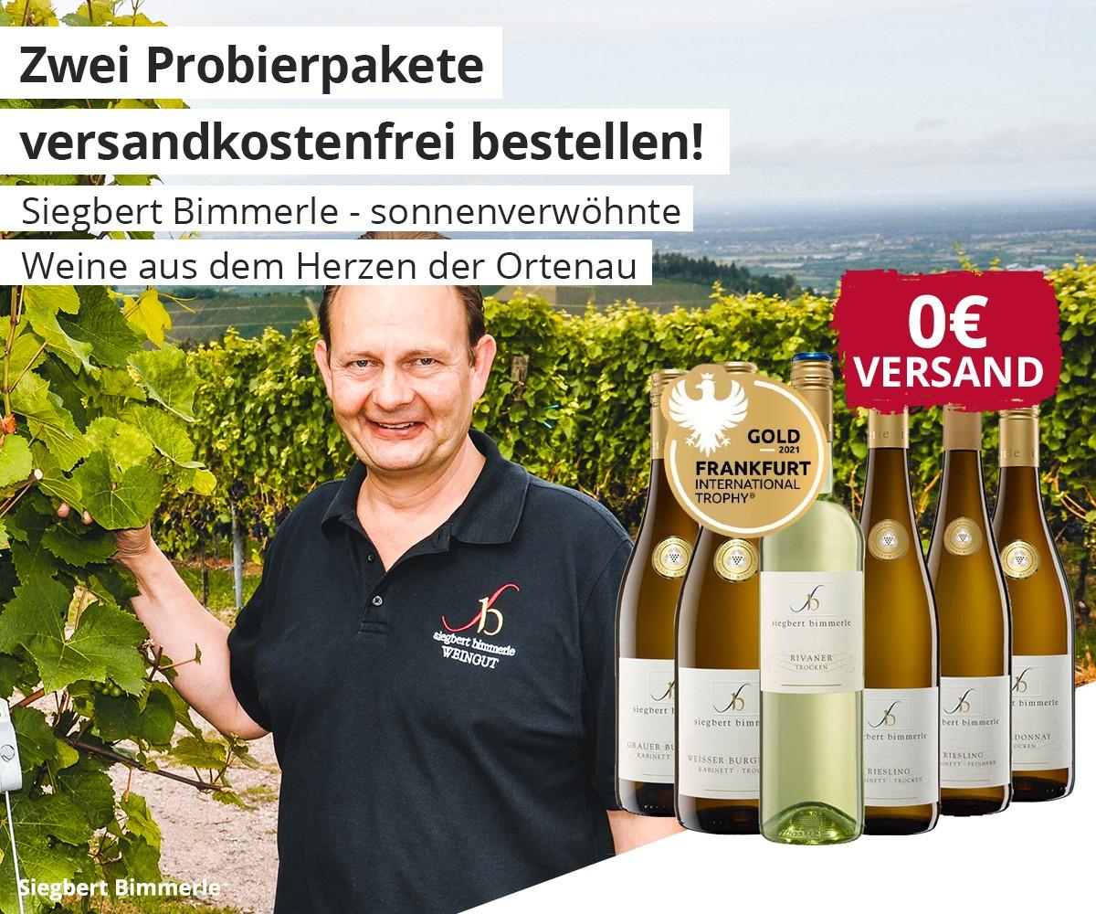 Siegfried Bimmerle - Probierpakete versandkostenfrei