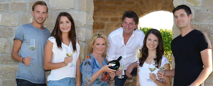 Weingut am Vögelein: Edelstahltank