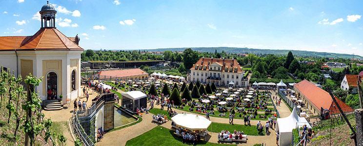 Schloss Wackerbarth: Sekt b.A.