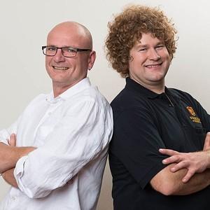 Alexander Ley und Joachim Krumrey
