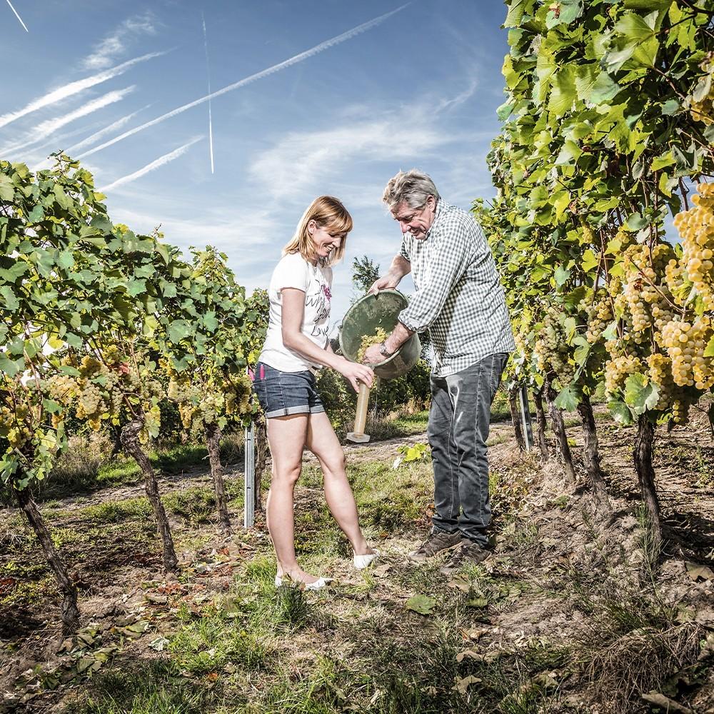 Yvonne Kleiker und Wilfried Finkenauer