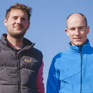 Sven Ohlinger und Philipp Seeger