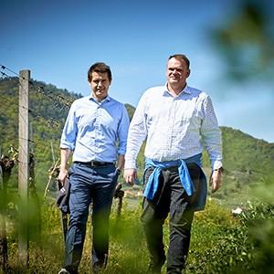 Roman Horvath und Heinz Frischengruber