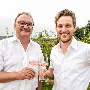 Manuel Betz & Vater Harald Betz