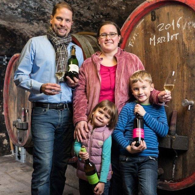Frank Heyden mit Familie