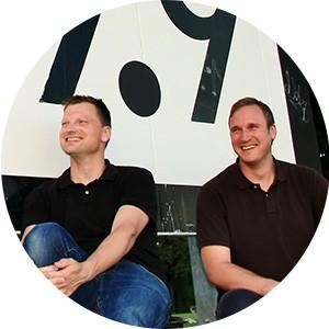Michael Sobe und Maik Werner