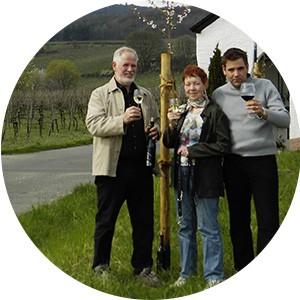 Christa, Gerhard und Christian Eser