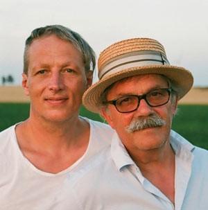 Robert Boudier und Elmar Köller