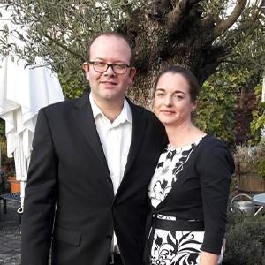 Isabelle und Christian Jungblut