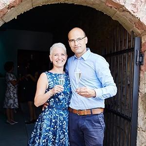 Christian Fürböter und Frau