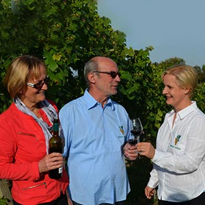 Bettina, Manfred und Katharina Lindicke