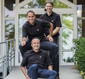Andreas Reichert, Thomas Beyl, Axel Gerst.