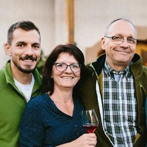 Christoph, Christine und Reinhard Golter