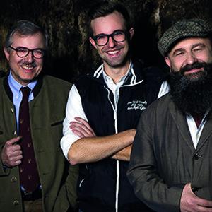 Martin Hammel, Markus Nordhorn und Christoph Hammel